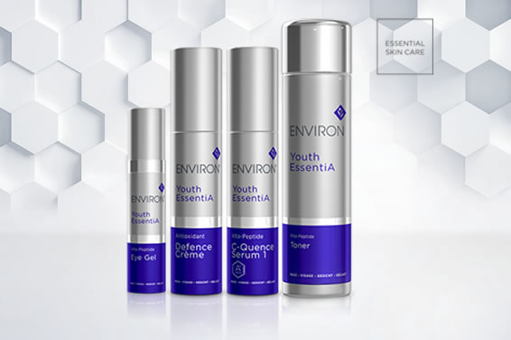 Environ Youth Essentia Range at Etiket