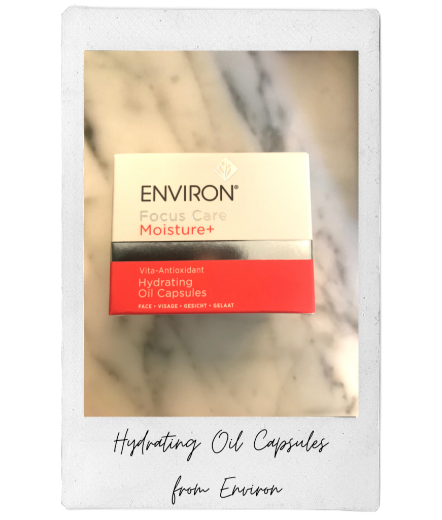 Paule's fall essential are the Hydrating Oil Capsules from Environ.