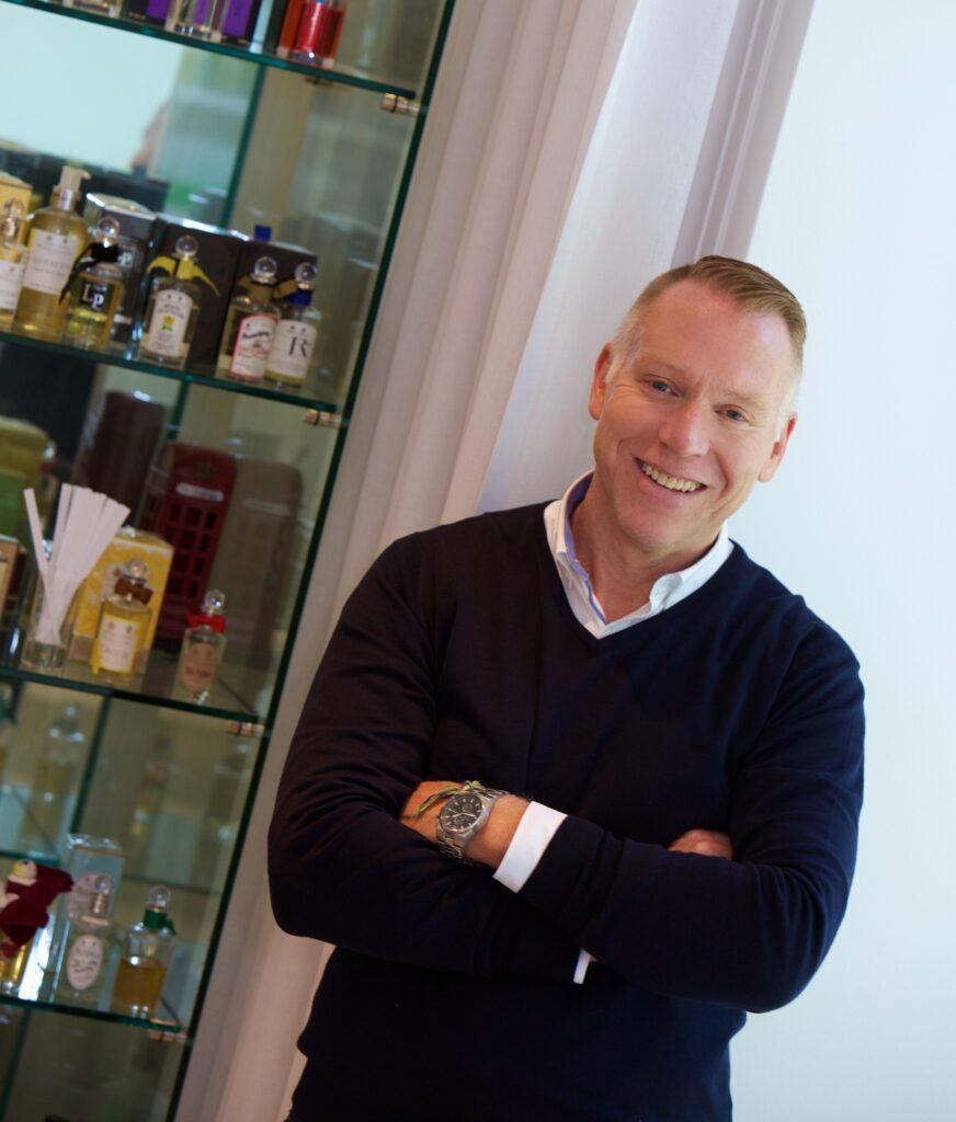 Simon Tooley Propriétaire d'Etiket