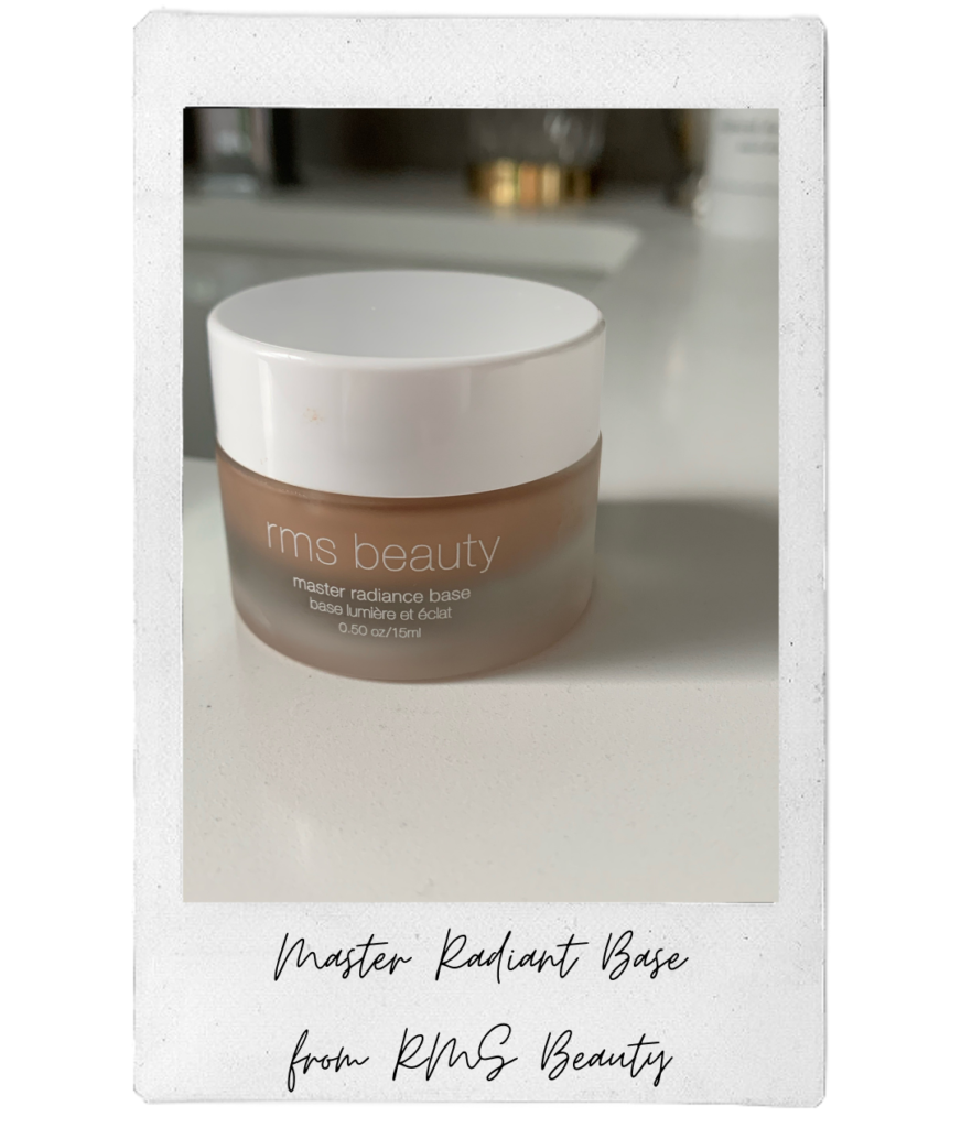 Sari's fall essential is the Master Radiance Base from RMS.