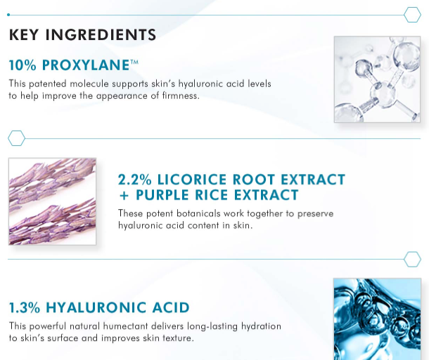 Ingredients for H.A. Intensifier