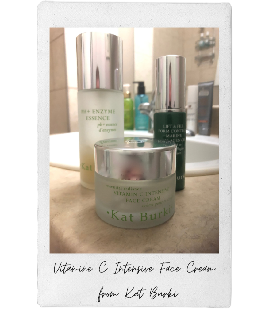 Simon's fall must-have is the Vitamin C Intensive Face Cream from Kat Burki.