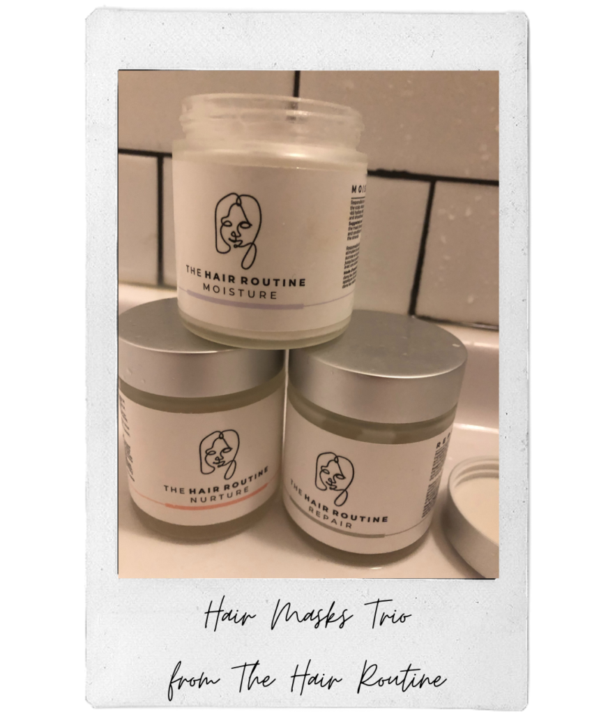 Karine's fall essential is the Hair Mask Trio from The Hair Routine.