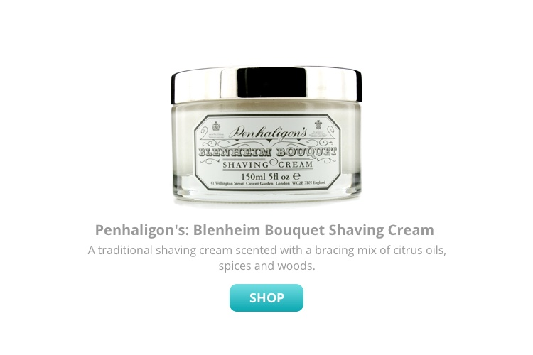 Blenheim bouquet shave cream